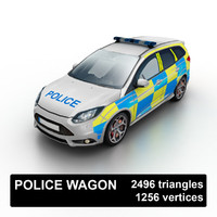 maya uk police wagon