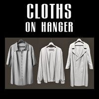 3ds max cloth hangers