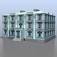 3ds max house russia
