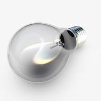 3d classic light bulb e27