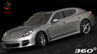 3ds max porsche panamera turbo 2010