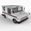 mail truck 3D models