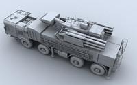 sa-22 pantsir-s1 3d model