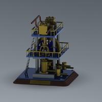 manufacture 3d model