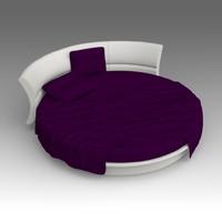 maya leather bed