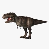 trex dinosaur 3d model