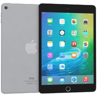 3d apple ipad mini 4 model