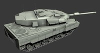 Strv122 Swedish main battle tank