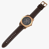 obj lg watch urbane gold