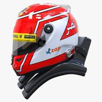 3d racing helmet felipe nasr