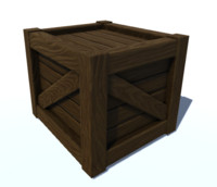 wooden crate x