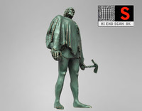 3d sculpture monument figure