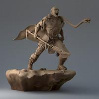 3d persian myth model
