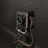 3d max mamiya c330 camera