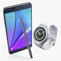 samsung gear s2 note5 3d max