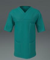 3d surgeon dress model