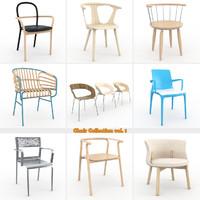 chair vol 1 3d model
