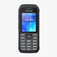 samsung xcover 550 3d model