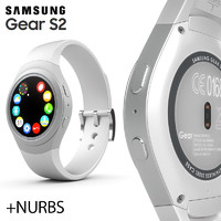 3d samsung galaxy gear s2
