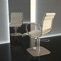 3d chair hair alu-chair