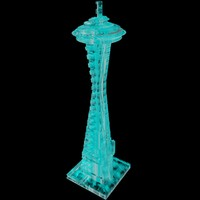 3ds max space needle ice sculpture