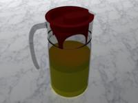 3d pitcher
