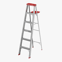 3d max painting ladder