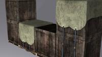 3d pallet crate