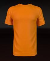 3d t-shirt shirt orange