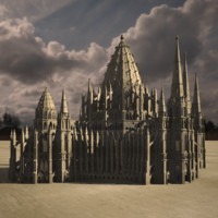 3d cathedral gothic