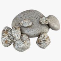 3d model stone s