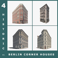 3ds max 4 historic berlin corner