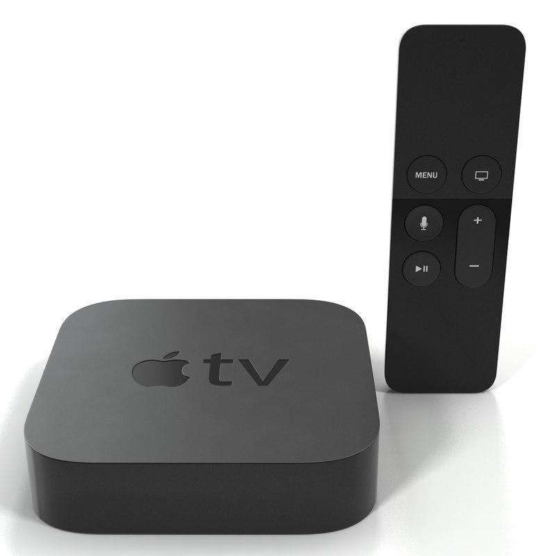 New Apple TV 2015 Set 3d models 01.jpg