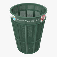 maya new york garbage bin