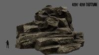 mountain mount 3d obj