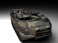 3ds max aav7 tank