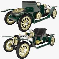 3d mamod steam toy car