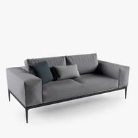 grid sofa 3d max