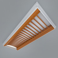 3ds max recessed ceiling element lighting