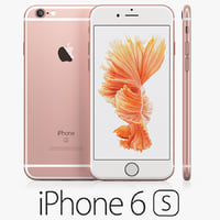 3d iphone 6s rose gold