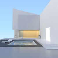 modern pool v2 3d 3ds