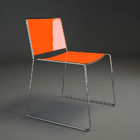 spindle chair 3d max