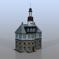 house german 3d model