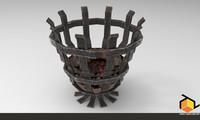 3d model roman ancient