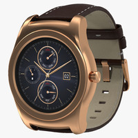 3ds max lg watch urbane 3