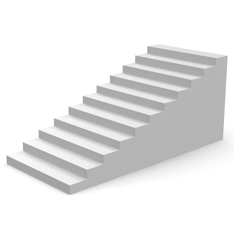 White Stairs 3d model 01.jpg