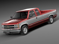 3ds max 1988 1999 chevrolet