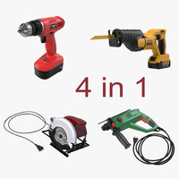 generic power tools 2 c4d