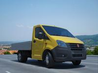 3d russian truck gazelle model