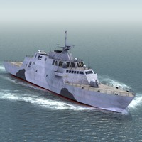 3d model freedom class lcs lcs1